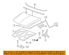 GM OEM Hood-Bumper Cushion 15735963