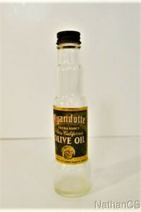 Vintage WYANDOTTE OLIVE OIL Bottle California