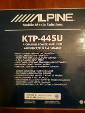 Alpine KTP-445U Car Amp New Amplifier head unit power pack 4 channel four