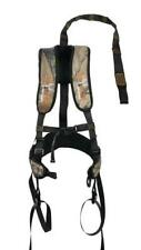 Lightweight Nylon Camo Iron Hide Fall Arrest Harness 300 lbs Hunting Protection
