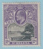 ST HELENA 55  MINT HINGED OG * NO FAULTS EXTRA FINE !