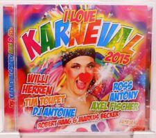 I Love Karneval + 2 CD Party Album mit 40 Fetenhits und Stimmungsgarantie + 2015