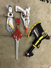 Mighty Morphin Power Rangers Weapons Lot 90s Bandi Toys Vintage