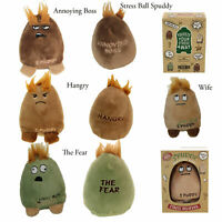 Spuddy Novelty Potato Stress Ball Reliever Adults Emotion Sensory Squeeze Toys