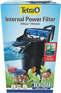 20 Gallon Tetra WHISPER Internal Filter For aquariums Fish Turtle, Air Pump Tank