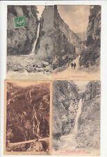 Lot 4 cartes postales anciennes DRÔME GORGES D'OMBLEZE 3