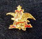 "Vintage Anheuser Busch ""A"" & Eagle Logo Lapel Hat Tie Pin"
