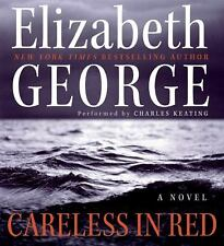 Inspector Lynley: Careless in Red by Elizabeth George (2008, CD, Abridged, Unabr