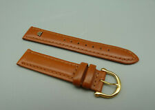 RRJK Orig MAURICE LACROIX Leder Armband Braun brown leather 17mm TOP unbenutzt