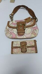 Coach Handbag with Wallet set