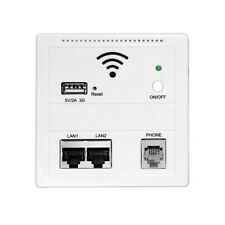 Wall WiFi 3G AP Repeater Router Wireless WiFi USB Charging Socket Panel
