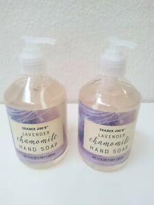 2 PACK Trader Joe's Lavender Chamomile Hand Soap