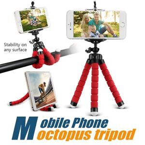 Flexible Universal Camera Mobile Phone Tripod Stand Holder for Samsung Iphone