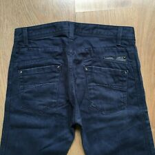 DIESEL DARRON MENS W30 L32 REGULAR SLIM-TAPERED BUTTON FLY DENIM JEANS