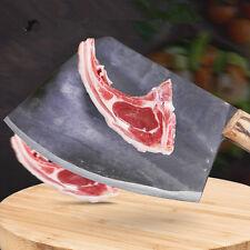 GTJ Carbon Steel Forged Professional Chef Chopping Bone Knife Cutting Big Bone