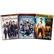 The Librarian: Complete Original Movies 1-3 + TV Series Seasons 1-2 Box/DVD Sets