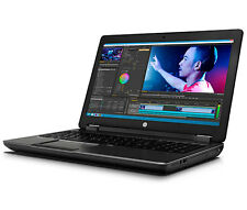 "HP Zbook 15 G2 15.6"" FHD i7-4710MQ 2.50GHz 8GB 750GB NVIDIA K1100M WEBCAM W7P"