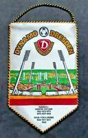 Orig. Wimpel SG Dynamo Dresden DDR Oberliga Fussball DFV SGD FDGB Ostalgie DFV