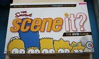 2009 The Simpsons Scene it? DVD Board Game Complete Screen Life