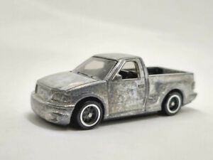 hot wheels 2020 unspun Zamac Ford F-150 Lightning Truck pickup unrivet - Rubber