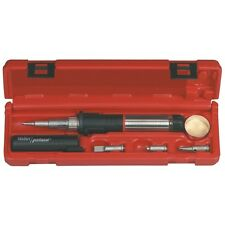 Cordless Soldering Iron Kit Tool Super Pro Self Igniting Butane Gas Tips Weller