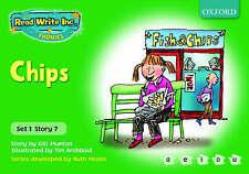 Read Write Inc. Phonics: Green Set 1 Storybooks. Chips, Munton, Gill, New Book