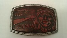 St. Louis Mo Exposition 1904 Geronimo Belt Buckle Reproduction