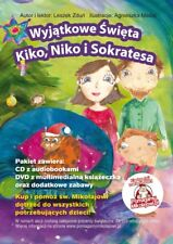 "Polskie Bajki "" Kiko, Niko i Sokrates"" audiobook  cd &dvd,  polish for kids"