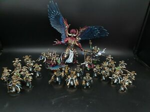 warhammer 40k Thousand Sons +  magnus the Red made to order pro painted