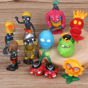 Plants Vs Zombies Sunflower Squash 10 PCS Action Figure  Kids Toy Doll Gift