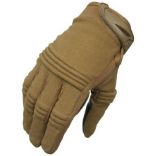 Condor Tactician Shooting Gloves - Coyote - Small - Touch Screen Friendly
