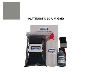 Platinum Medium Grey Flocking Kit - Dashboard Flocking Show Car Camper VW