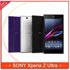 """Sony Xperia Z Ultra XL39H C6833 Unlocked Original Android 4G LTE 6.4"""" 8MP Phone"""