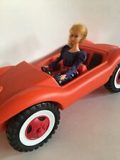 """Vintage Convertible Sand Buggy Car – 11.5"""" Fashion Dolls – Barbie Not Included"""