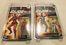 GI JOE SDCC 2012 KIM ARASHIKAGE JINX RED WHITE SET/2 COMIC CON EXCLUSIVE 25TH