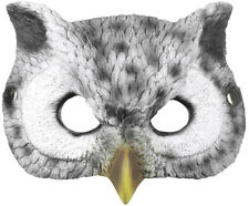 LATEX EULEN MASKE # Eulenmaske Uhu Kauz Vogelmaske Vogel Kostüm Party Deko 96634