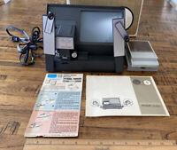 Vintage Atlas Warner Dual Eight Film Editor Model D-23 W/ Splicer - Works!