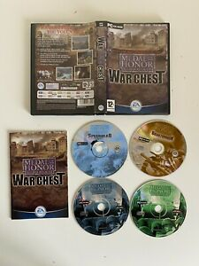 Medal Of Honor Allied Assault War Chest PC - Complete - VGC - Free P&P