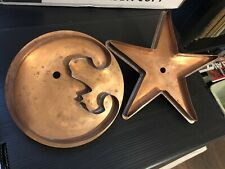 Martha Stewart by Mail MOON & STAR Copper Cutter Set by Michael Bonne