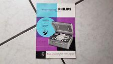 Philips Magnetophone  Type EL.3527 -Tonband  Prospekt  1959
