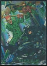 1995 Batman Forever Metal Trading Card #82 Head's Up