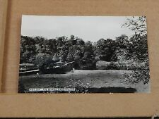 Postcard The bridge Waddington Real photo unposted Real photo .. XC3.