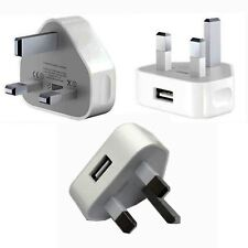 100 x  Main USB Wall Charger Genuine CE Approved USB Wall Plug For Tablet Phone