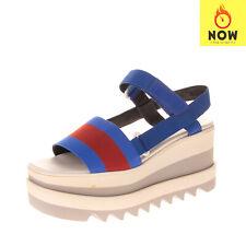 RRP €465 STELLA MCCARTNEY Slingback Sandals EU37 UK4 US7 Platform Serrated Sole
