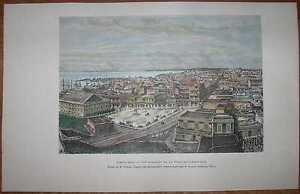 1891 Reclus print SAN JUAN, PUERTO RICO (#65)