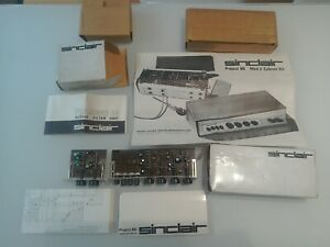 Sinclair Stereo High Fidelity 60 Pre Amp + Active Filter Unit + Diagrams Rare