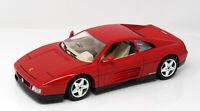 Modell 1:18 Ferrari 348 tb 1989 rot  BBurago in OVP   gebraucht