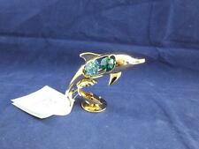 Crystocraft Free Standing Dolphin with Strass Swarovski Crystals.