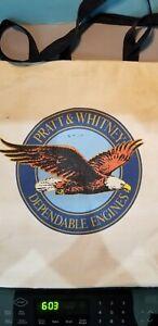 PRATT & WHITNEY CANVAS BAG