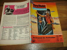 PERRY RHODAN  # 458 -- ARSENAL d. ANDROIDEN / 1. Aufl. 1970+Reklame für Perry-LP
